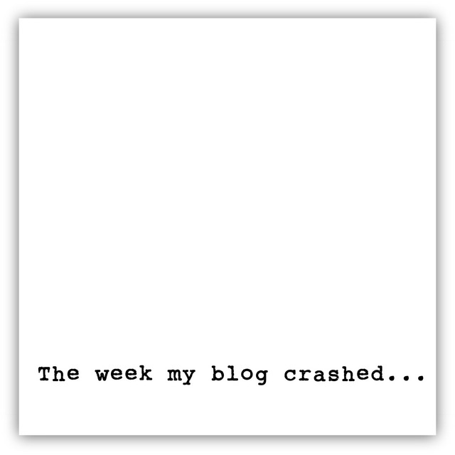 The week my blog crashed by northstory.ca