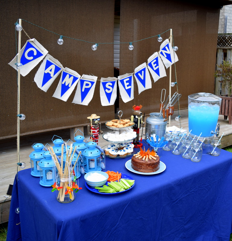 Camping Birthday Party Decor - northstory.ca