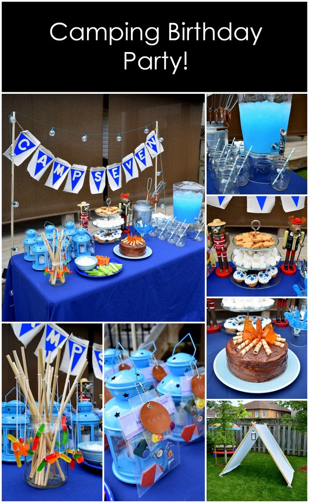 Camping Birthday Party by northstory