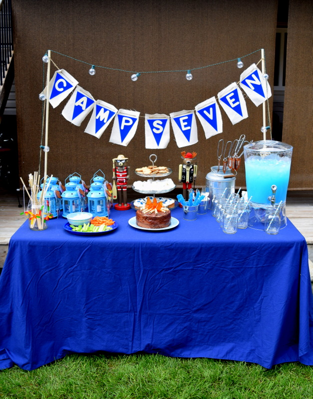 Camping Birthday Party - northstory.ca