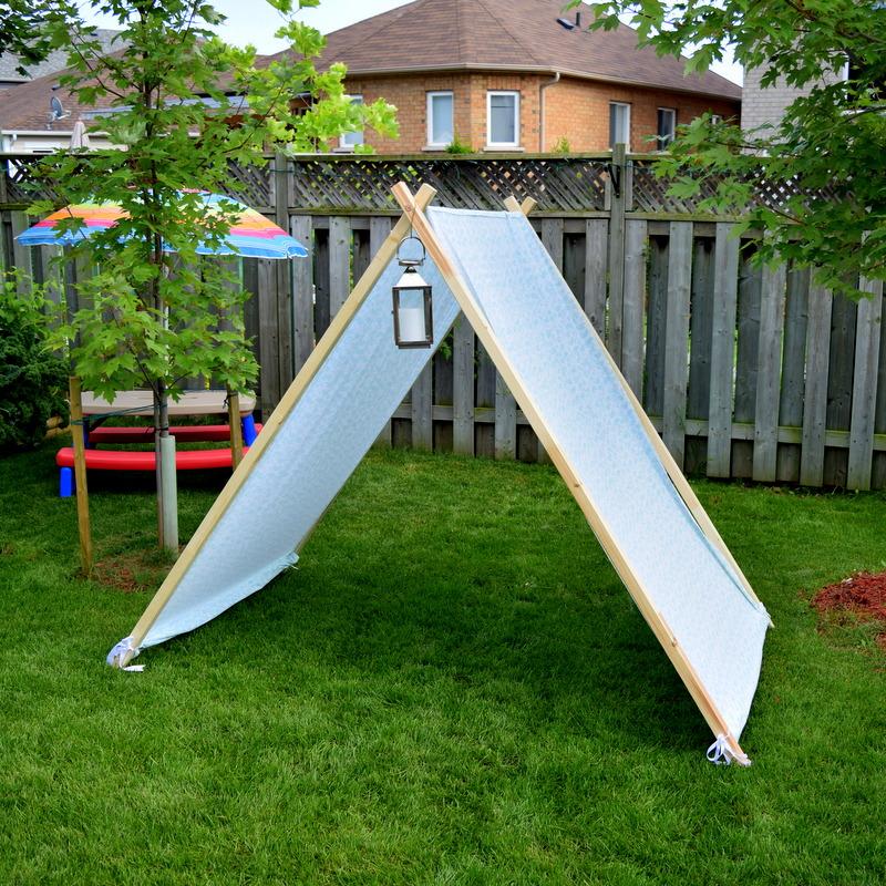 DIY tent for taller kids - northstory.ca
