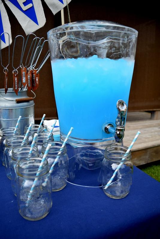 Kool Aid Ice Blue Raspberry Lemonade Camping Birthday Party - northstory.ca