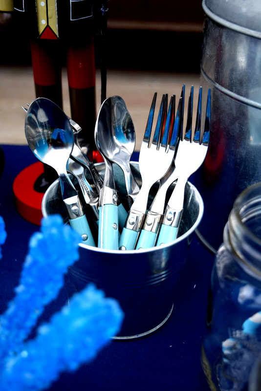 Pottery Barn Cambria Cutlery Turquoise