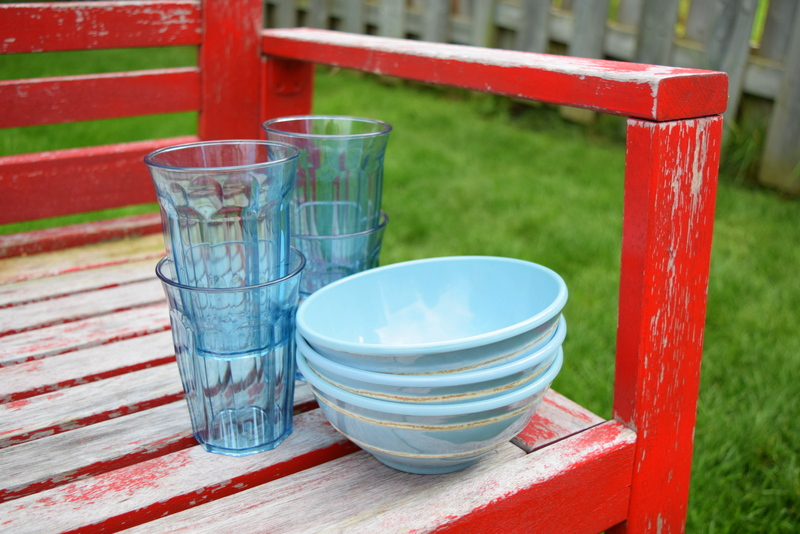 Pottery Barn Cambria Tableware Turquoise