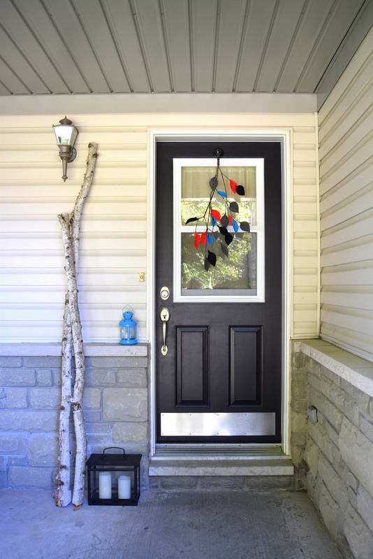 BEHR Carbon Black Paint for our front door - northstory.ca