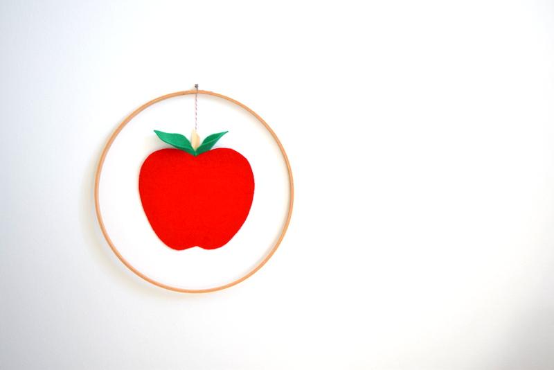 DIY Apple Decoration - northstory.ca