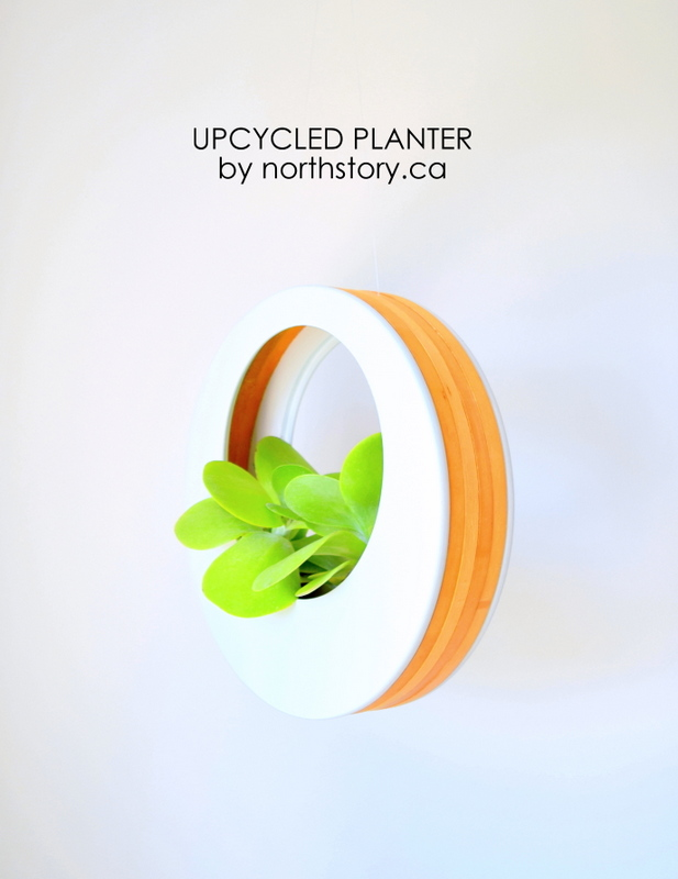 Upcycled Planter by northstory.ca