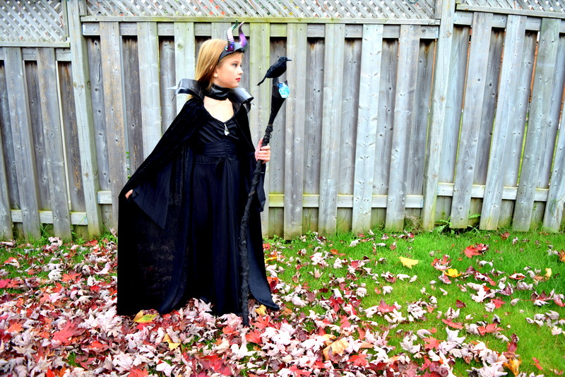 DIY Maleficent Costume for Kids - northstory