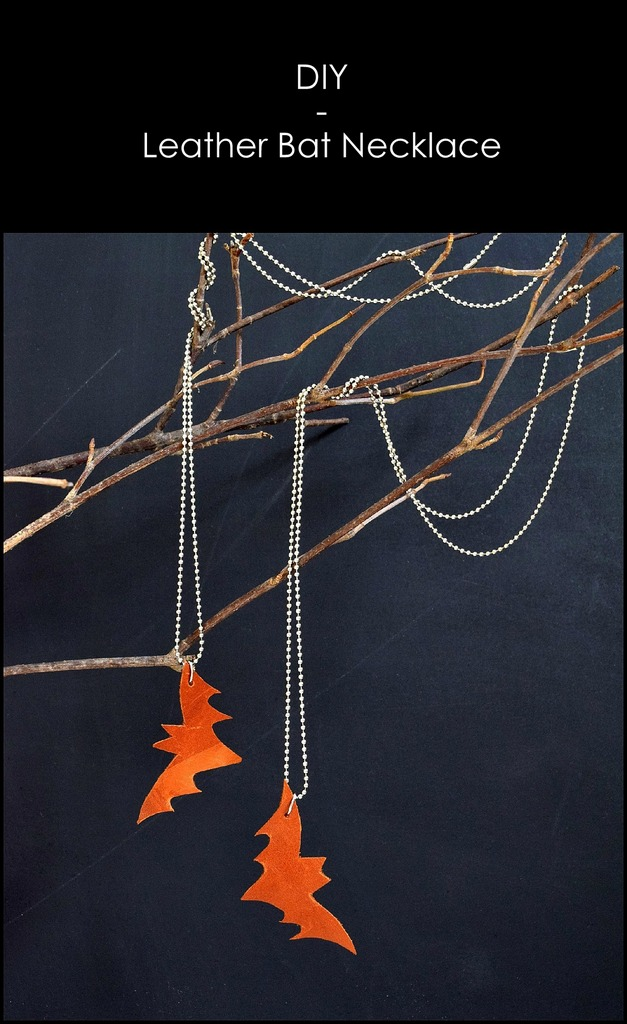 Leather Bat Necklace - northstory