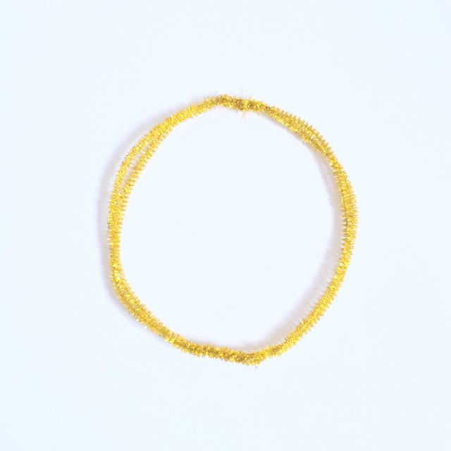 gold pipe cleaners circle
