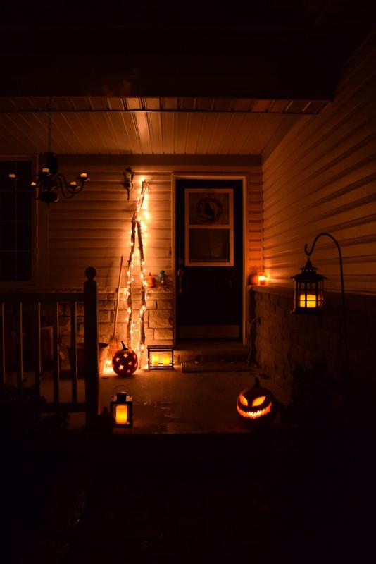 Halloween Porch Decor - northstory