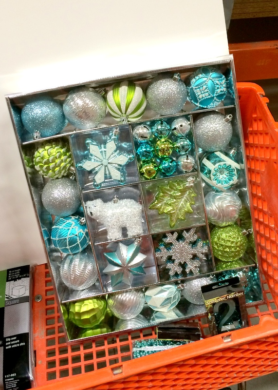 Martha Stewart Christmas decorations at the  Home Depot