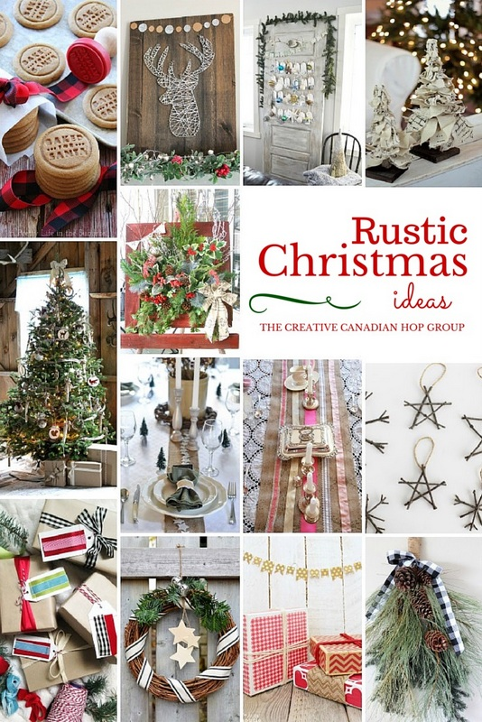 Rustic Christmas Ideas - Creative Canadian Bloggers - northstory