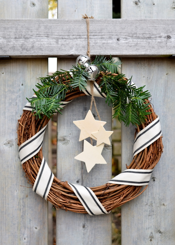 Rustic Wreath for Christmas - northstory