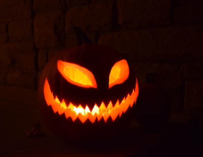 Scary Jack O' Lantern - northstory