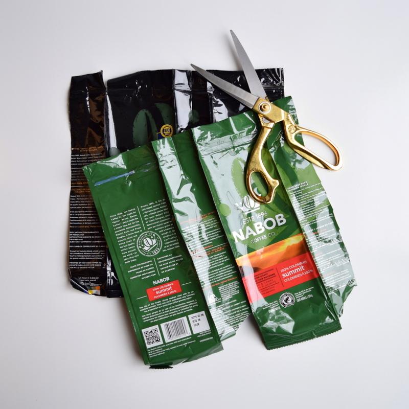 Upcycling coffee NABOB coffee bags - northstory