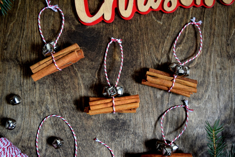 Cinnamon Stick Ornaments - Gift Toppers - northstory