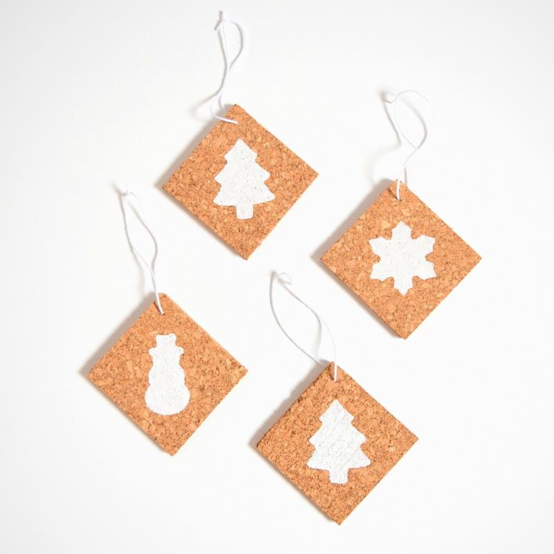 DIY Cork Ornaments for Christmas - northstory