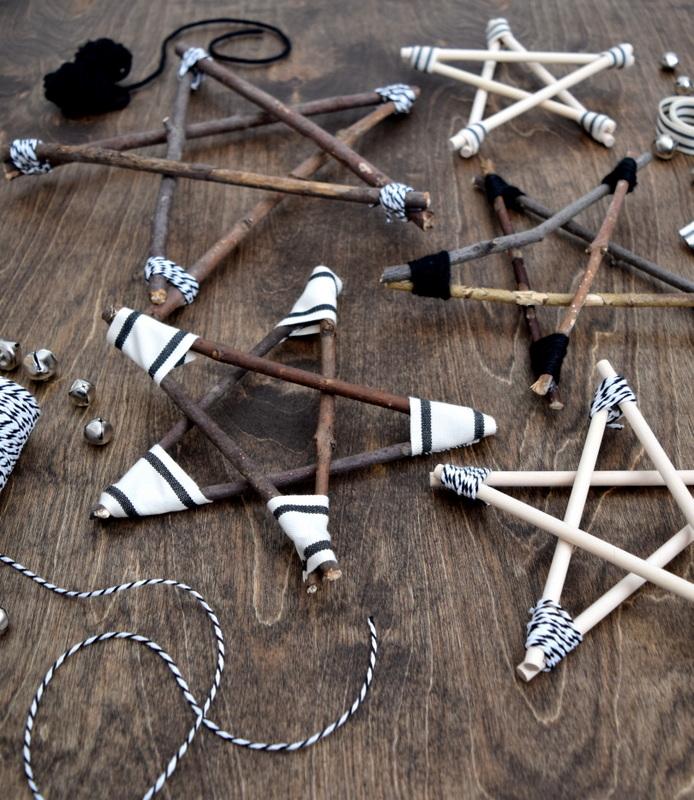 DIY Rustic and Modern Twig Stars - northstory