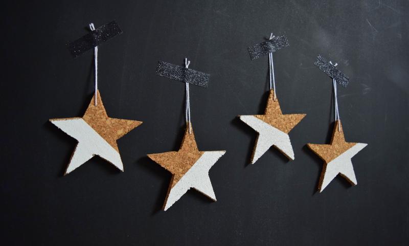 DIY star cork ornaments - northstory