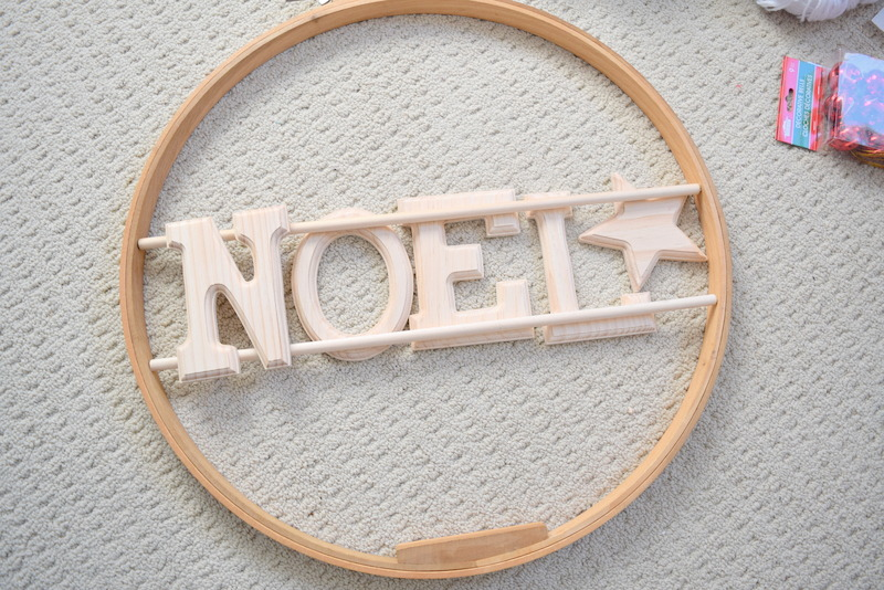 Making the wood wreath - northstory