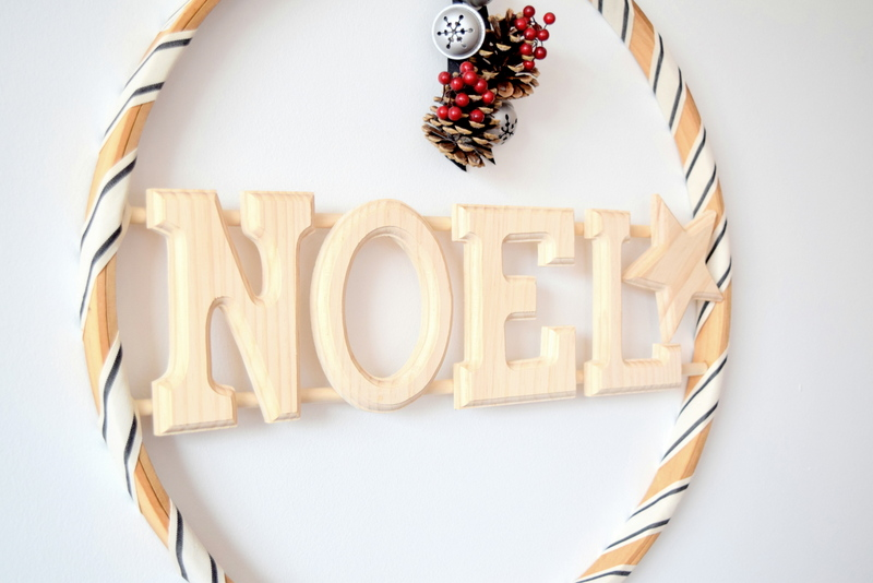 Wood wreath with words - northstory