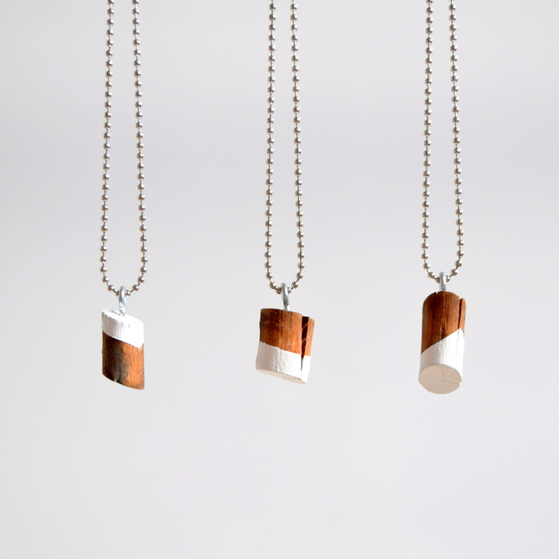 DIY Wood Knot Necklace - northstory