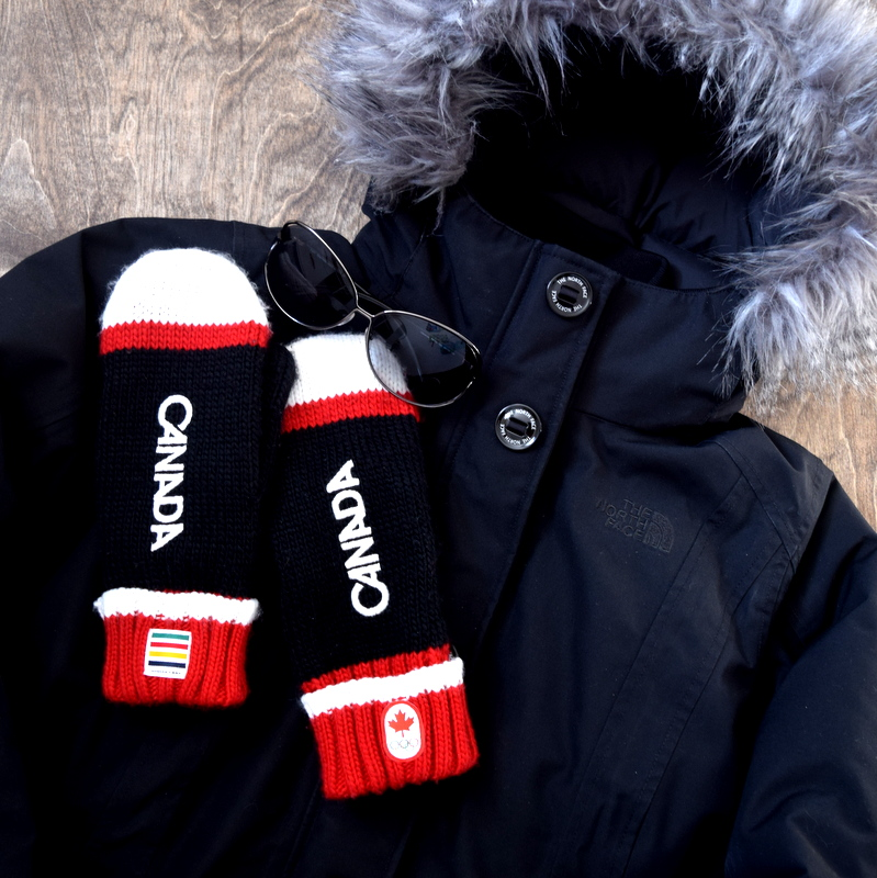 The North Face Tremaya Parka, HBC Olympic Winter Mittens, Tom Ford Sunglasses