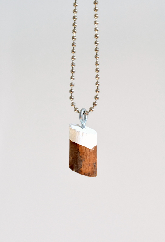 Wood Knot Necklace Pendant - northstory