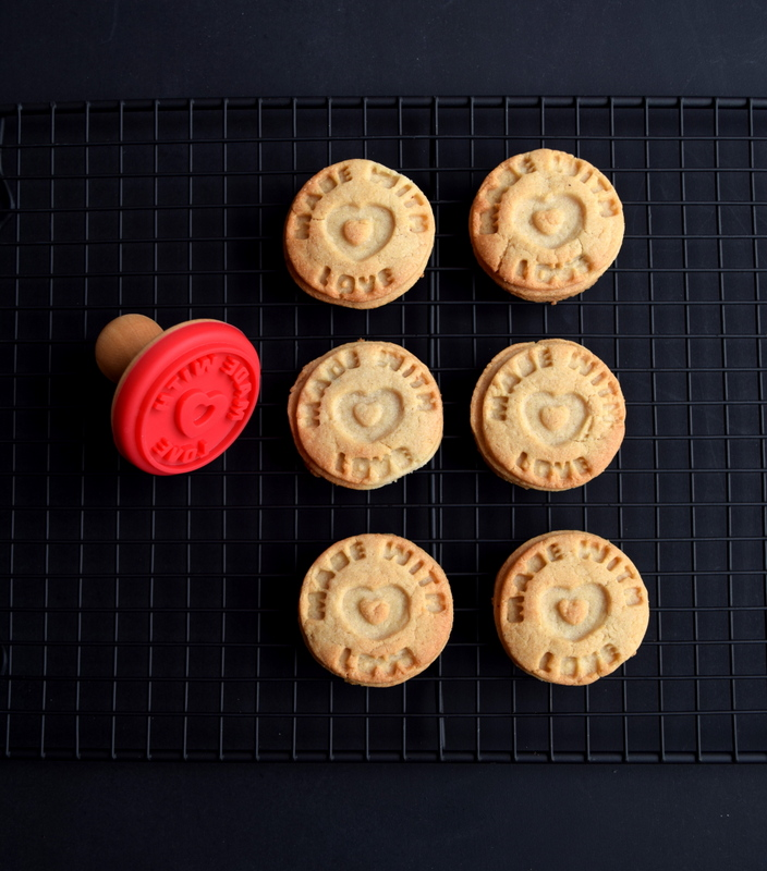 Made with Love stamp - cookies - northstory