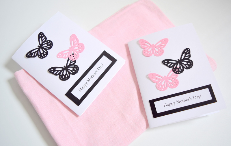 DIY Butterfly Mother's Day Cards - northstory
