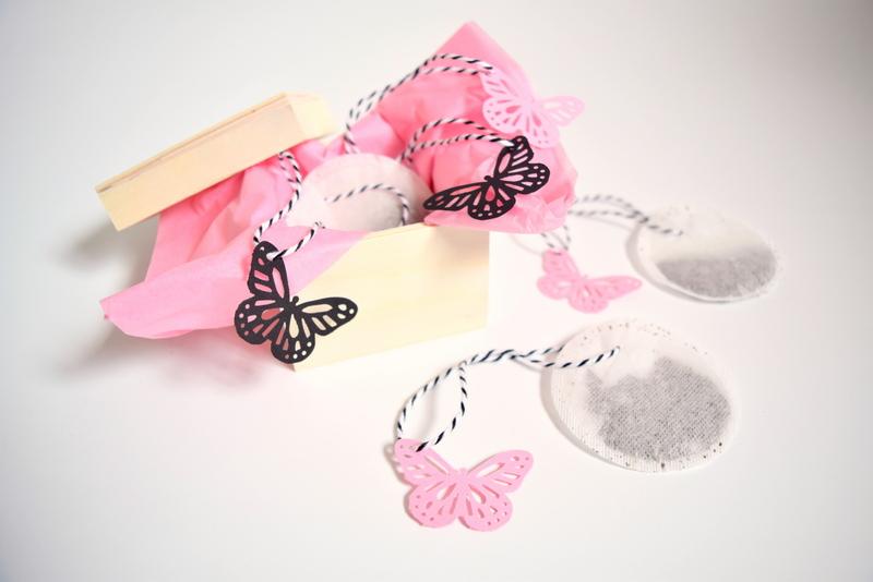 DIY Butterfly Tea Tags - northstory