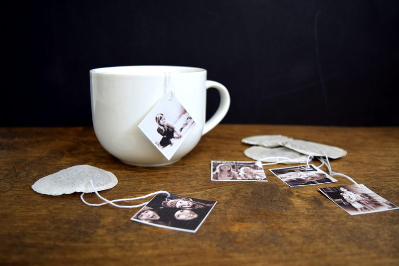 DIY Photo Tea Tags for Mother's Day (or any other special occasion) - northstory