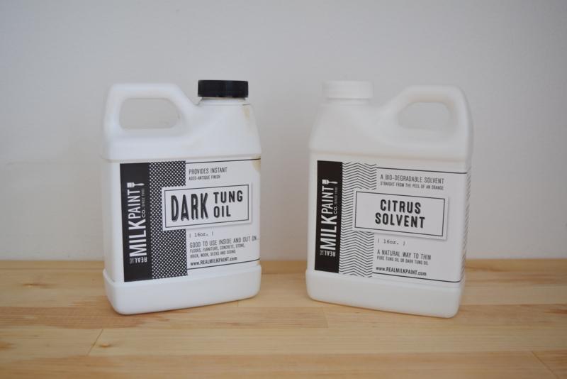 Dark Tung Oil & Citrus Solvent