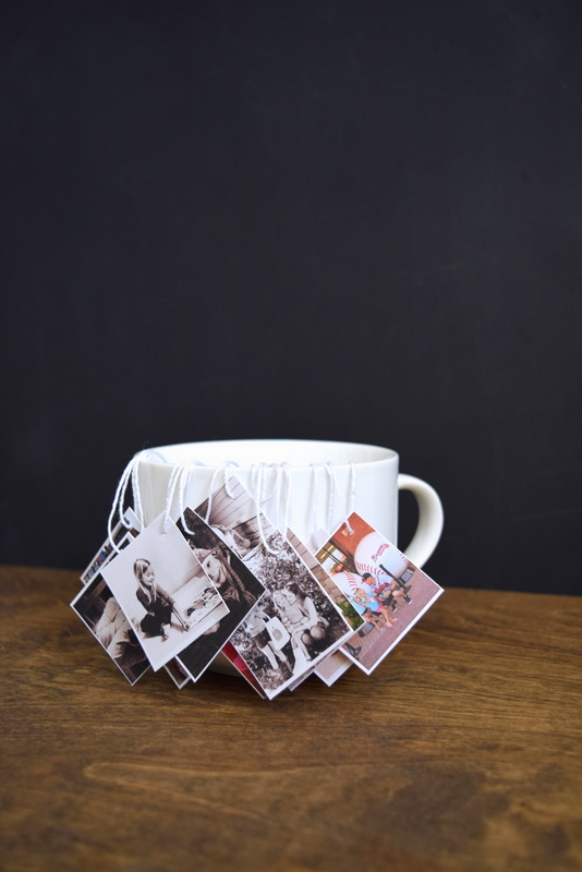 Make your own photo tea tags - northstory