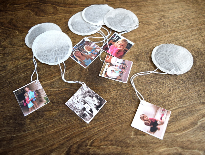 Photo Tea Tags - a great gift idea - northstory