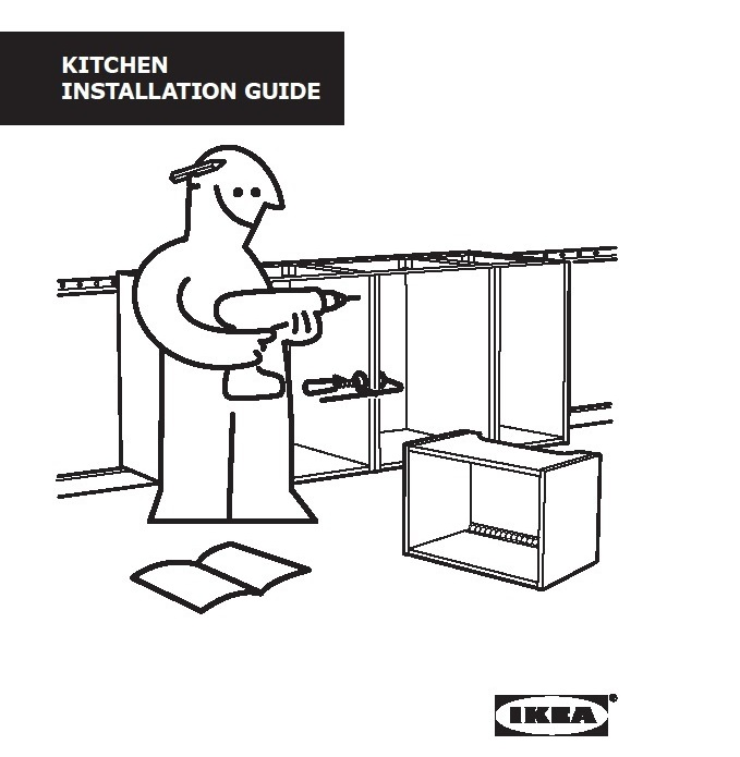 IKEA Kitchen Installation Guide Page 1