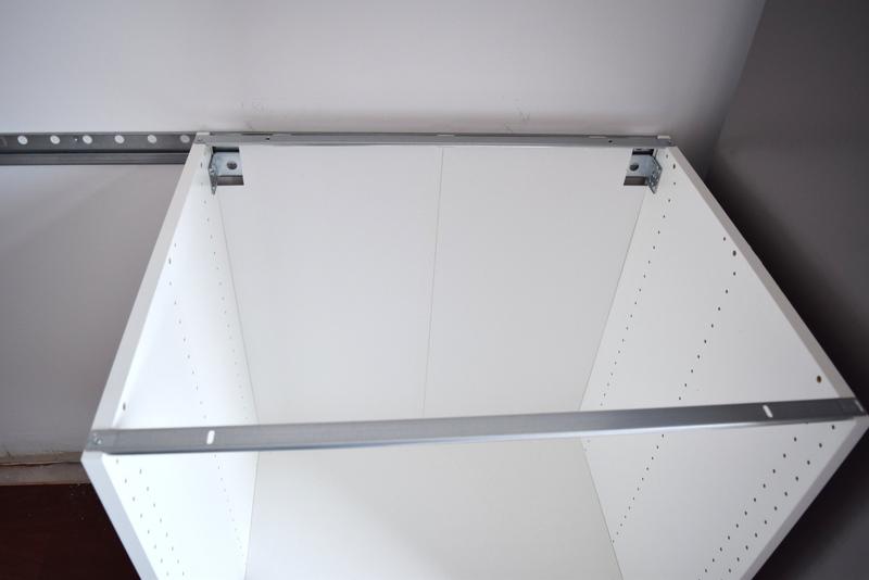 Hanging your IKEA SEKTION railing (13)