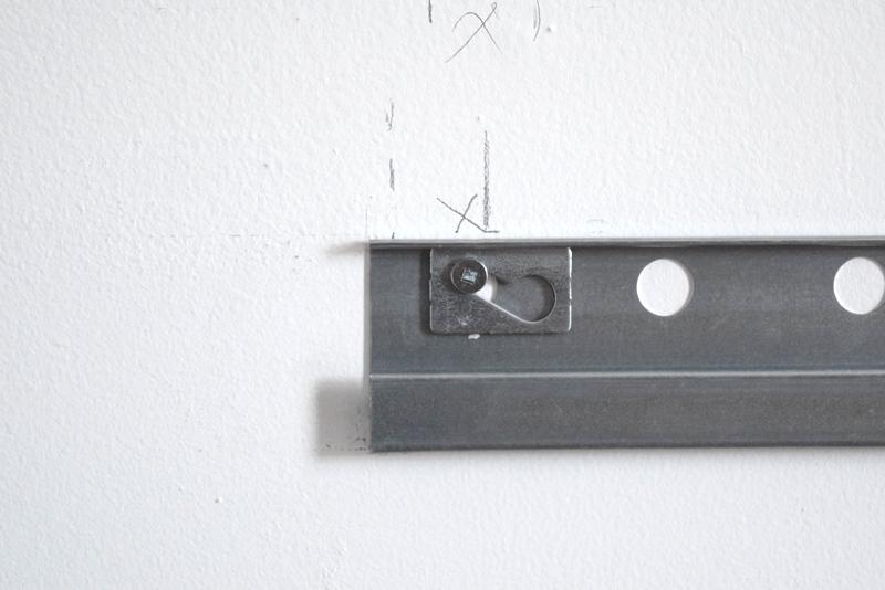 Hanging your IKEA SEKTION railing (5)