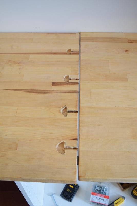 Installing IKEA Butcher Block countertops (2)