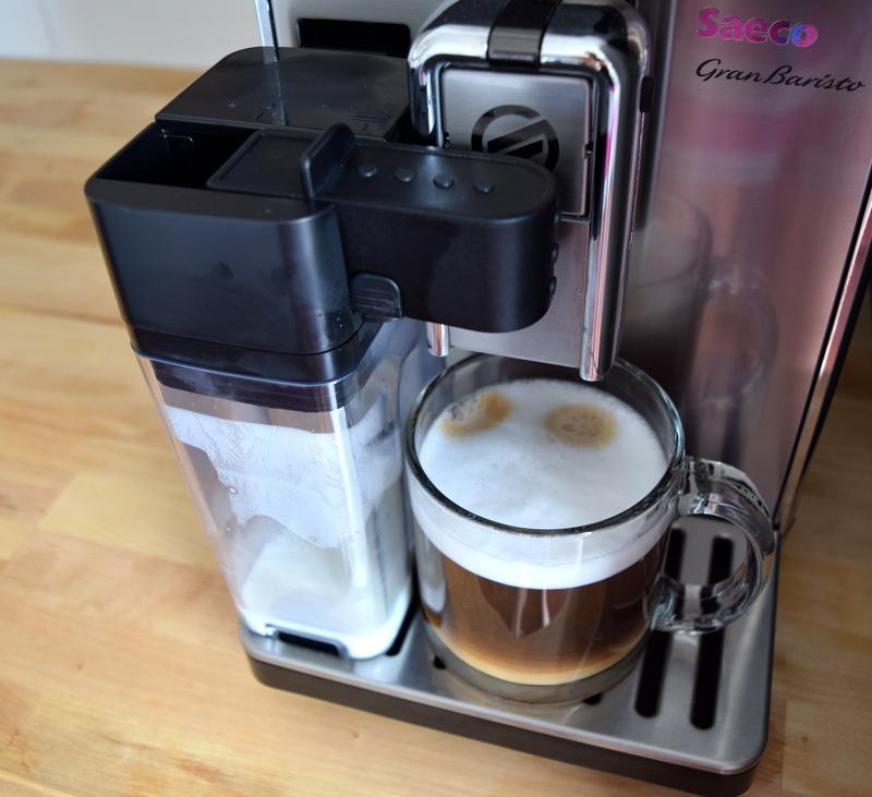 Making coffee with the Saeco GranBaristo