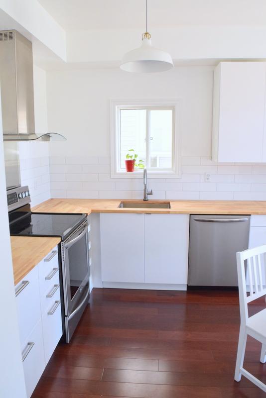 northstory kitchen reno - IKEA SEKTION - white scandinavian kitchen