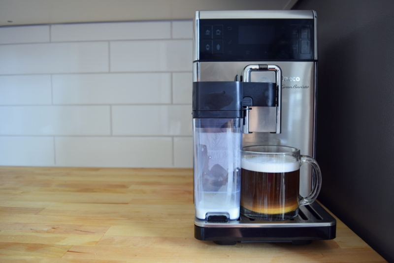 Saeco GranBaristo in stainless steel