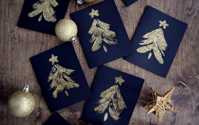 diy-glitter-christmas-cards