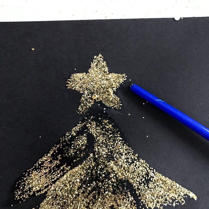how-to-make-glitter-christmas-cards-step-5