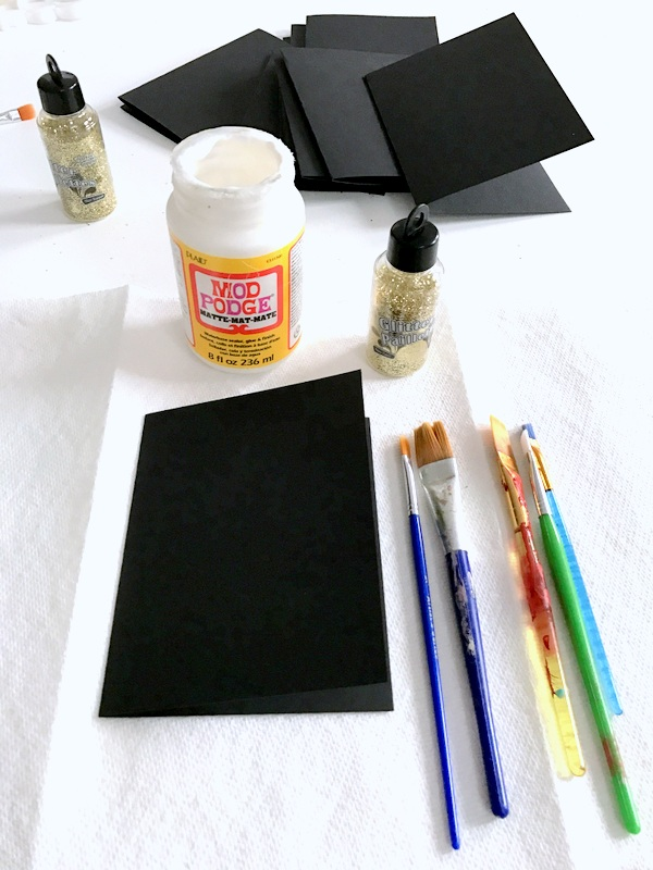 how-to-make-glitter-christmas-cards-supplies